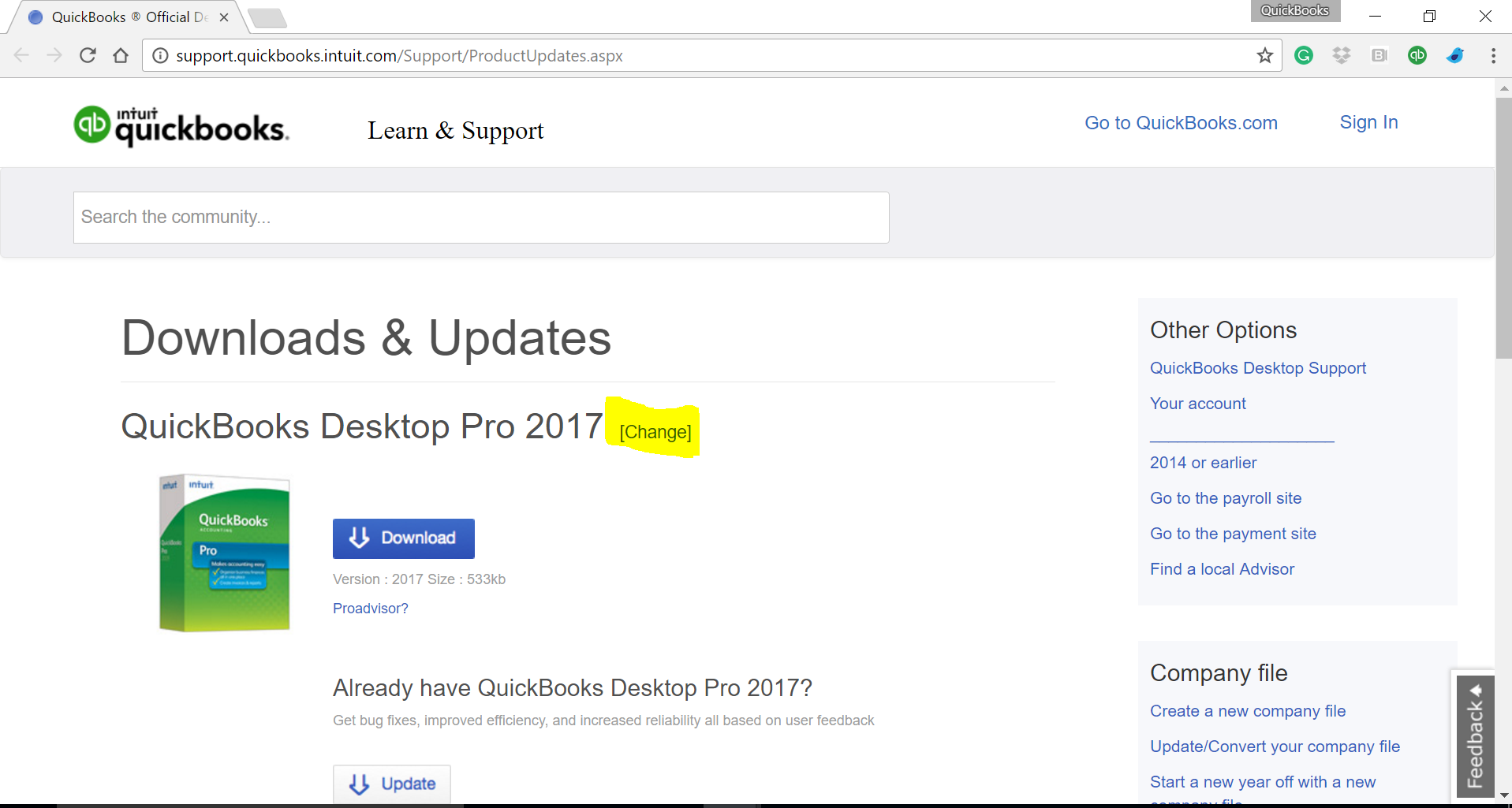 2017 quickbooks desktop pro download